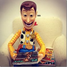 Toy Story   Woody no Instagram : Danger! Comics, Movies and More