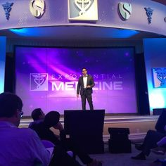 On the stage @psychsuperman breaking down the #mentalhealth barriers at #xmed