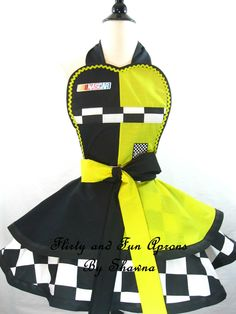 Nascar Apron... This would make me want to cook