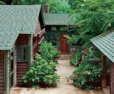 Yes, these cabins!  Surrounded by nature and family and friends.