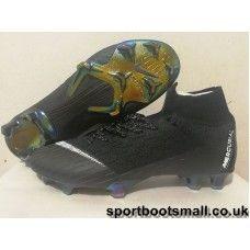newest 43ae7 e271f Nike Mercurial Superfly VI 360 Elite FG Mens Football Boots - Black  Gold White
