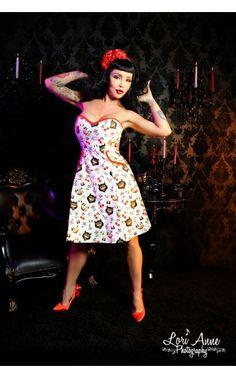 Jinxed Cat Dress | Pinup Girl Clothing