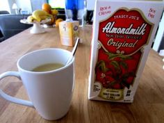 Trader Joe's almond milk - for my coffee... and maybe sometimes with cookies... :)