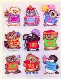 Shirt tales. So cute. I loved this cartoon and had lunch box with them on it.
