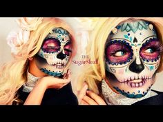 14 Stunning Dia de los Muertos YouTube Tutorials | Brit + Co