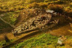 Sheepfold in Buzau County