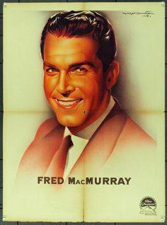 MovieArt Original Film Posters - FRED MACMURRAY (1958) 21786, $80.00 (https://www.movieart.com/fred-macmurray-1958-21786/)