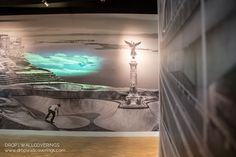 National Music Centre Wall Murals Installed by Drop Wallcoverings, Calgary Wallpaper Installer Calgary, Wall Murals, Centre, Commercial, Drop, Wallpaper, Music, Wallpaper Murals, Musica