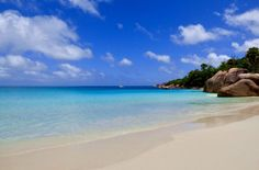 One of the most wonderful beaches in the world, Anse Lazio, Seychelles