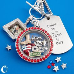 #Gifts to honor our #Military by #OrigamiOwl Living #Lockets. #ArmyWife #ArmyMom #Navy #Marines #Airforce Follow me on #Facebook http://www.fb.com/kellercharm