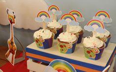 Baby TV Cupcakes  Violeta Glace