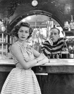 Lauren Bacall & Humphrey Bogart, 1954