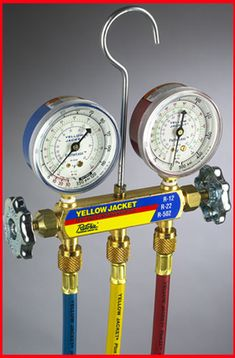 Yellow Jacket 40815 Refrigeration System Analyzer comes