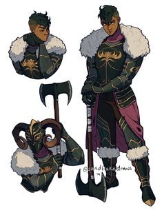 commission - marquise-de-pounce - Makes it both sadder and also better Fantasy Character Design, Character Creation, Character Drawing, Character Design Inspiration, Character Ideas, Character Concept Art, Character Design References, Dungeons And Dragons Characters, Dnd Characters