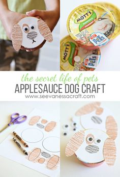 Motts Applesauce Dog Cups inspired by The Secret Life of Pets for kids! #MottsMovieBonus ad
