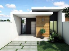 3 Storey House Design, Bungalow House Design, Modern Small House Design, Cool House Designs, Home Building Design, Building A House, Facade Design, Exterior Design, Affordable House Plans