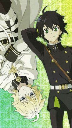 owari no seraph yuu \ owari no seraph ; owari no seraph guren ; owari no seraph mikayuu ; owari no seraph shinoa ; owari no seraph wallpaper ; owari no seraph mikaela ; owari no seraph yuu ; owari no seraph ferid Manga Anime, All Anime, Me Me Me Anime, Anime Art, Anime Boys, Mikaela Hyakuya, Cute Anime Pics, Seraph Of The End, Owari No Seraph