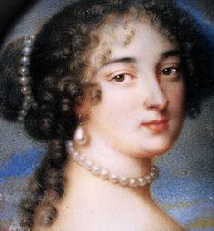 Madame de Maintenon Louis Xiv, Pearl Necklace, Pearls, Lady, Jewelry, Fashion, String Of Pearls, Moda, Jewlery