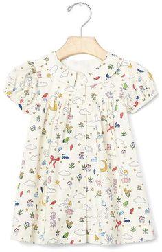 Darling nursery collar dress