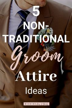 Grooms, It's time to stand out from the crowd! With an alternative wedding attire. Get those 5 Non-Traditional Groom Attire Ideas, and express your sense of style. Check out my post and see how you can make a stylish groom look that fits perfect to a summer beach, garden, Boho, rustic and outdoor wedding. From Casual and Non formal groom outfit to formal unique Colored Suit for grooms and a pair of shoes that match your groom style like white sneakers. Casual Wedding, Wedding Attire, Wedding Band, Groom Outfit, Groom Attire, Wedding Looks, Bridal Looks, Burgundy Suit, Groomsmen Proposal