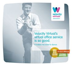 Velocity Virtual's virtual office service is really good...