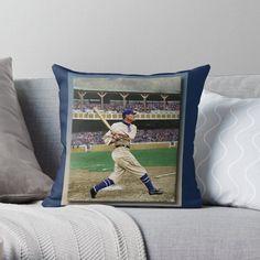 Vintage Baseball Pillows & Cushions   Redbubble Daybed Pillows, Cushions, Baseball, Artist, Vintage, Design, Home Decor, Throw Pillows