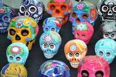 Morelia and Patzcuaro, Michoacan, , Mexico Group Tours and Trips' — Salt & Wind Travel Sugar Candy Skulls, All Souls Day, All Saints Day, Group Travel, Group Tours, Machu Picchu, Hand Painted Ceramics, Ceramic Painting, Mexico Travel