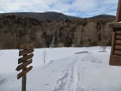 TrailsNH.com, Hiking trail conditions and reports RAVINE LODGE AREA, 2/24/15