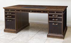 LINLEY | Bespoke design & furniture | Bespoke Desk with Secret Drawers