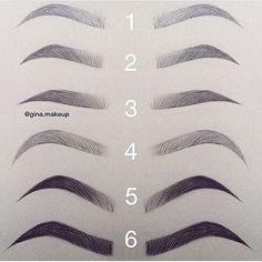 Whats your favorite? Pick one ❤️ @gina.makeup  #makeup #makeupgeek #mua #makeupartistworldwide #makeupaddict #hudabeauty #toofaced #beccacosmetics #highlight #hudabeautyliquidmatte #lips #lipstick #nudelips #inspiration #motd #lotd #makeupjunkie #makeupdolls #beauty #glam #choker #onfleek #facebeat #makeupmafia #anastasiabrows  #anastasiabeverlyhills #vegas_nay #beforeandafter #brows #browsonfleek #facebeat 1920s Makeup Tutorial, Eyebrow Tutorial, Arched Eyebrows, My Makeup Collection, Makeup Trends, Makeup Inspo, Beauty Makeup, Hair Beauty, Makeup Sets