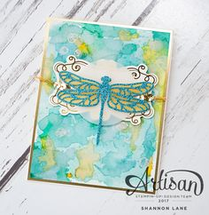 Crush On Colour: Dragonfly Dreams: Stampin' Up! Artisan Design Tea...
