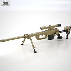 CheyTac Intervention M-200 3d model from humster3d.com