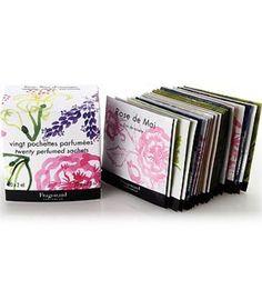 Boxed Perfumed Sachets 20 x 2 ml by Fragonard Parfumeur by Fragonard Parfumeur -- Awesome products selected by Anna Churchill