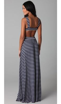 Come to kpopcity.net -- the biggest discount variety fashion store online!! Victoria Secret Original Gift Card - http://p-interest.in/ Stipe Cutout Dress jaimeleec86