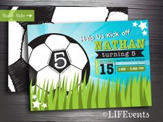 Hey, I found this really awesome Etsy listing at http://www.etsy.com/listing/164794267/soccer-ball-birthday-invitation-digital