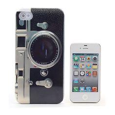 Carcasa Retro de Cámara de Fotos para el iPhone 4S (Varios Colores) - USD $ 1.73