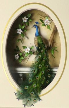 Królewski (Królowa) Royal Ethereal Queen Bahçe – home accessories Peacock Wall Art, Peacock Painting, Peacock Decor, Peacock Colors, Peacock Images, Peacock Pictures, Art Antique, Mural Art, Nature Wallpaper