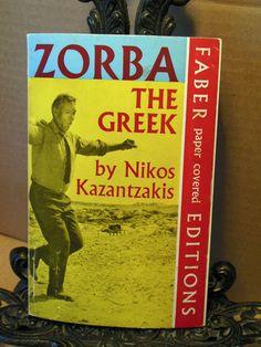Zorba The Greek w Anthony Quinn 20th Century Fox Movie Cover~Nikos Kazantzakis