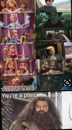 Realized this only yesterday. lol Your a princess Harry.You can find Harry potter memes and more on our website.Realized this only yesterday. lol Your a princess Harry. Harry Potter Disney, Memes Do Harry Potter, Fans D'harry Potter, Harry Potter Fandom, Potter Facts, Harry Potter Book 8, Harry Potter Funny Pictures, Harry Potter Cartoon, Lily Potter
