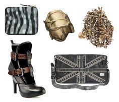 fashiontoast | 01/23/2009 accessorize CdG hologram wallet, YSL cobra ring, Vernissage gold ants ring, D&G messenger bag, Vivienne Westwood ankle boot.