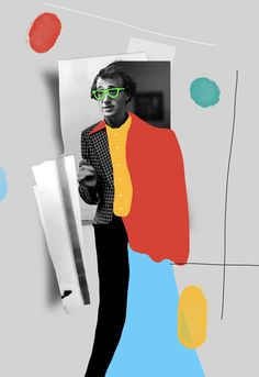 Raphael Vicenzis Collage Art Feature By Designsmix Photo Illustration, Graphic Illustration, Graphic Art, Graphisches Design, Photo Images, Kunst Poster, Poster Art, Photocollage, Woody Allen