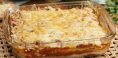 Veja como fazer uma deliciosa lasanha com massa de panqueca