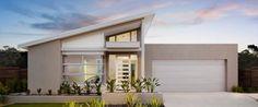 skillion roof house