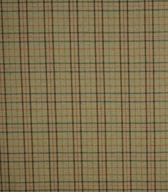 Designer clearance wool tartan fabric from Abraham Moon at a bargain clearance price! A stylish checked plaid fabric, Larn is a great curtain fabric but also suitable for roman blinds and cushions. As wool is inherently fire retardant this fabric is ideal for use on upholstery for a highland look. Buy online today while stocks last!