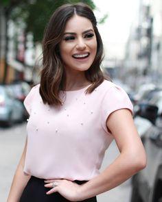 """c6e810a32 DOCE FLOR no Instagram: """"{Lançamento} Detalhes desta blusa linda com pérolas!  💕💕💕"""""""