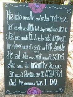 wedding sign ~ sex and this city quote