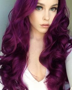 Women Pink Wigs Lace Front Hair Baby Pink Hair With Dark Roots Pastel Pink And Blue Hair Pastel Pink Mens Hair – cressral Cute Hair Colors, Fall Hair Colors, Hair Color Purple, Cool Hair Color, Dark Purple, Purple Wig, Amazing Hair Color, Hair Color Ideas, Fall Winter Hair Color
