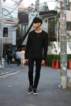So awesome! Japanese male fashion