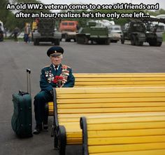 World War II veteran from Belarus Konstantin Pronin, sits on a bench as he waits for his comrades at Gorky park during Victory Day in Moscow, Russia, on Monday, May Konstantin comes to this place every year after WWII finished. This year he wa