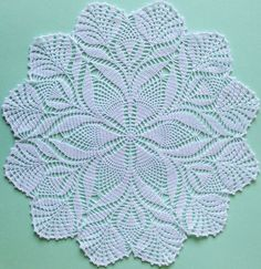 White cotton lace doily, Easter crochet table placemat, centerpiece, round doily, Ready to ship Crochet Dollies, Crochet Doily Patterns, Easter Crochet, Crochet Mandala, Crochet Round, Crochet Home, Crochet Flowers, Hand Crochet, Free Crochet